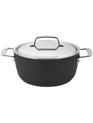 Demeyere Alu Pro - pot with lid, Duraglide, 24 cm, 4.25 L, 13324R / 40851-174