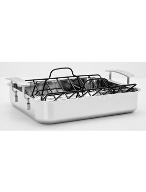Demeyere Industry - roasting pan/Skillet - 40 x 33.7 cm, 48740 / 40850-688
