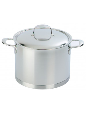 Demeyere Atlantis - stockpot with lid, Ø 24 cm, 8 L, 41394 / 40850-143