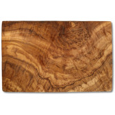 Cutting board olive wood rectangular, ca. 17.5 x 25 x 1.3 cm, art. no. 14183