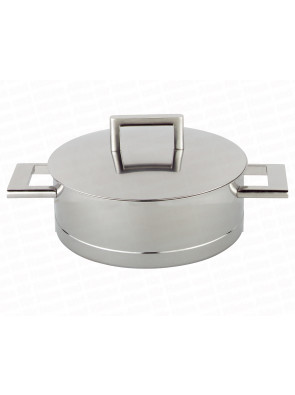 Demeyere John Pawson - low casserole w/lid - 28 cm / 11'', 71328 A / 40850-415