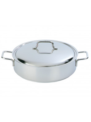 Demeyere Apollo - low casserole with lid, Ø 28 cm, 4 L, 44328 A / 40850-353