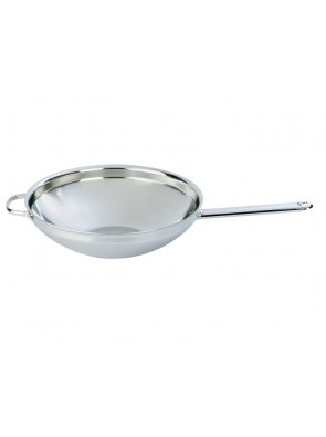 Demeyere Wok with flat base, Ø 32 cm / 12.6'', 52932 / 40850-207