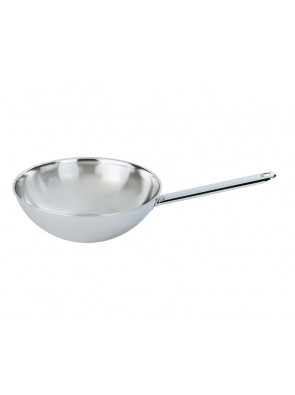 Demeyere Wok with flat base, Ø 26 cm / 10.2'', 52926 / 40850-206