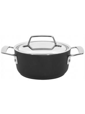 Demeyere Alu Pro - pot with lid, Duraglide, 16 cm, 1.5 L, 13316R / 40851-171