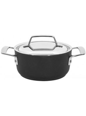 Demeyere Alu Pro - pot with lid, Duraglide, 18 cm, 2 L, 13318R / 40851-172