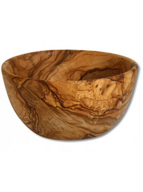 Salad bowl olive wood, Ø ca. 22 cm (8.7''), art. no. 14194