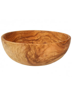Salad bowl olive wood, Ø ca. 26 cm (10.2''), art. no. 14196