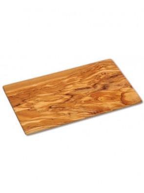 Herb cutting board olive wood, ca. 21,5 x 13 x 0,5 cm (8.5'' x 5.1'' x 0.2''), art. no. 14223