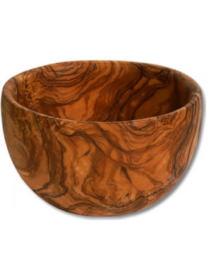 Salad bowl olive wood, Ø ca. 20 cm (7.9''), art. no. 14193