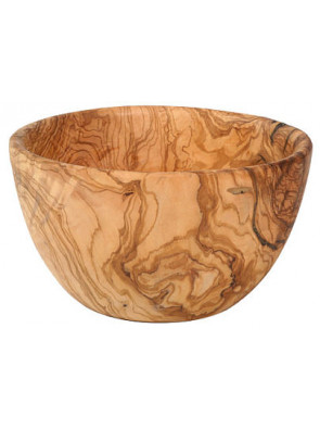Salad bowl olive wood, Ø ca. 24 cm (9.4''), art. no. 14195