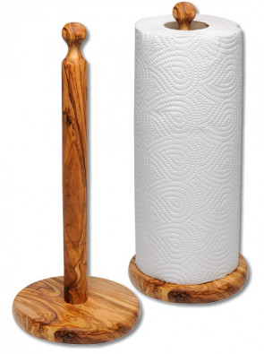 Kitchen roll stand olive wood, art. no. 14137