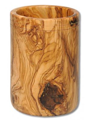 Quiver olive wood large, ca. 10 x 15 cm (3.9 '' x 5.9 ''), art. no. 14214