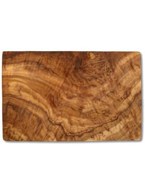 Cutting board olive wood rectangular, ca. 17.5 x 25 x 1.3 cm, art. no. 14183