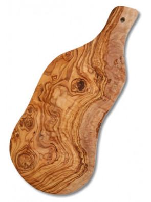 Cutting board olive wood, natural cut, ca. 40 x 18 cm, art. no. 14167