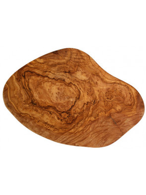 Cutting board olive wood small, ca. 25-28 cm x 2 cm, art. no. 14180