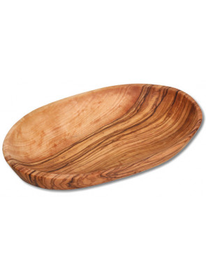 Bowl olive wood, oval, Ø ca. 18 x 11 cm, art. no. 14205