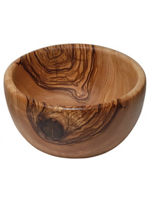 Bowl olive wood, round, Ø ca. 15 cm, art. no. 14189