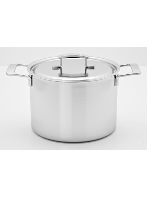 Demeyere Industry - stockpot with lid, Ø 24 cm, 8 L, 48394 / 40850-670