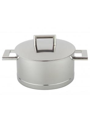 Demeyere John Pawson - pot with lid, Ø 18 cm, 2.2 L, 71318 / 40850-250