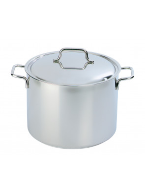 Demeyere Apollo - stockpot with lid, Ø 24 cm, 8 L, 44394 / 40850-173