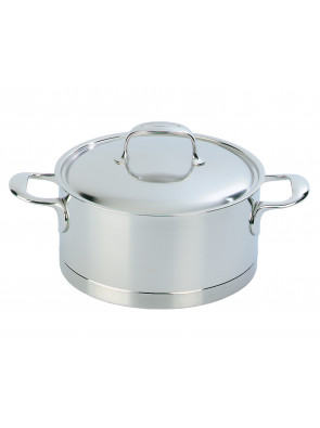 Demeyere Atlantis - pot with lid, Ø 24 cm, 5.2 L, 41324 / 40850-141