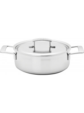 Demeyere Industry - low pot with lid, Ø 24 cm, 2.2 L, 48324 A / 40850-879