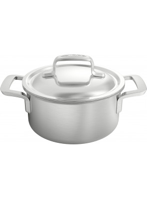 Demeyere Intense - pot with lid, Ø 16 cm / 6.3'', 1.5 L, 50316 / 40850-972