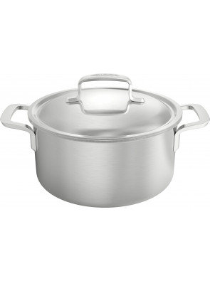 Demeyere Intense - pot with lid, Ø 22 cm / 8.7'', 4 L, 50322 / 40850-975