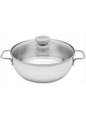 Demeyere Conical Dutch oven with glass lid Ø 28 cm / 11'', 54428 / 40850-767