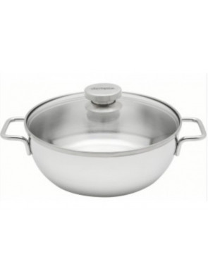 Demeyere Conical Dutch oven with glass lid Ø 24 cm / 9.4'', 54424 / 40850-766