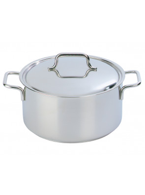 Demeyere Apollo - pot with lid, Ø 24 cm, 5.2 L, 44324 / 40850-166