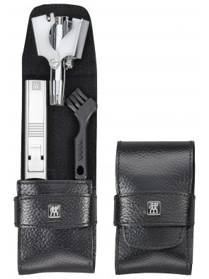 Zwilling Beauty - Manicure Twinox pocket case, black, 2 pcs., 97106-004
