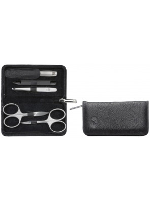 Zwilling Beauty - Manicure Twinox zip fastener case, black, 5 pcs., 98681-004